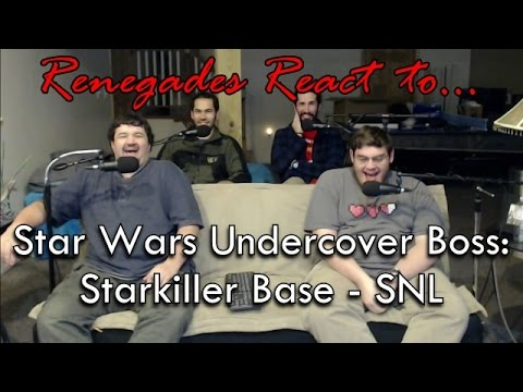 Renegades React to... Star Wars Undercover Boss: Starkiller Base - SNL (видео)