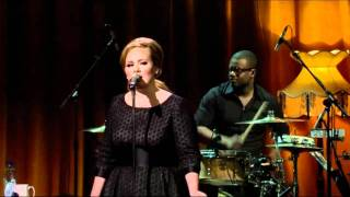 Adele - Right As Rain (Live)