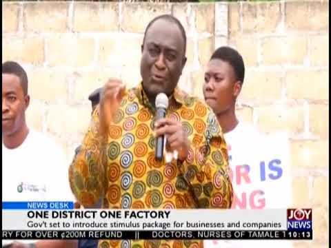 One District One Factory - News Desk on JoyNews (15-8-18)