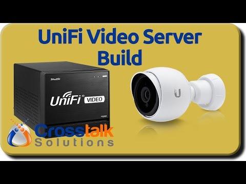 UniFi Video Server Build