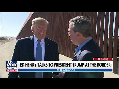 Interview: Ed Henry of Fox News Interviews Donald Trump at the Border Wall - September 18, 2019