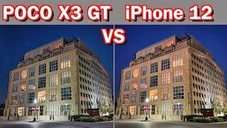 Xiaomi Poco X3 GT VS Apple iPhone 12 - Camera Comparison!