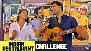 Indian Restaurant Challenge   Rimorav Vlogs