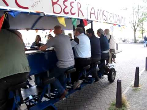 The beer wagon!