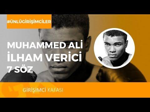 Tüm Zamanların En İyi Boksörü Muhammed Ali'den 7 İlham Verici Söz