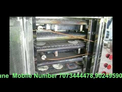 Semi-Automatic Chapatti Making Machine