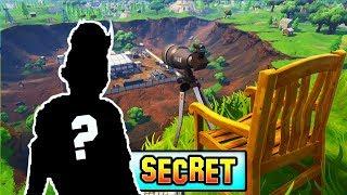 SECRET CHARACTER WE ALL MISSED! *SECRET CHAIR* Fortnite Season 4 Storyline Ending!