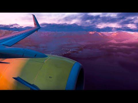 X-Plane 11 Film  Ultra-Realistic 737-800 Landing in Boston