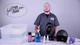 How To Clean a Motorcycle Helmet - Jafrum.com