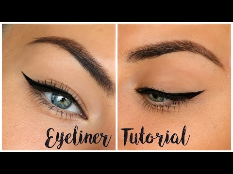 Winged Eyeliner Tutorial For Hooded Eyes ♡ My Tips & Tricks