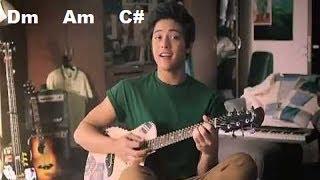 How to Play NASA IYO NA ANG LAHAT  - DANIEL PADILLA (GUITAR tutorial) chords and strumming