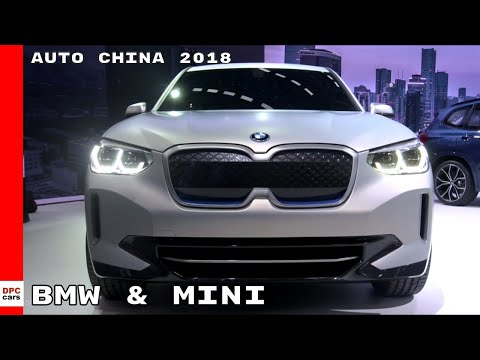BMW & Mini Booth At Auto China 2018