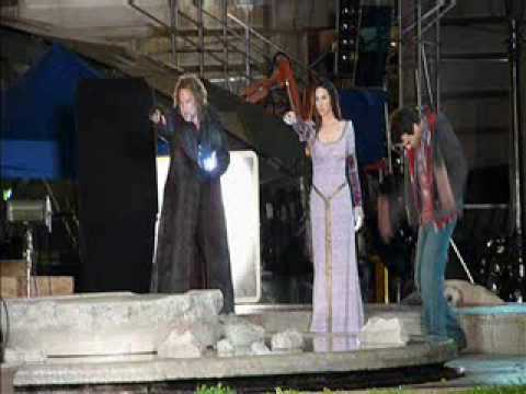 The Sorcerer's Apprentice 2010 Filming the Final Scene on Set with Nicholas Cage