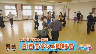 楽しく元気に社交ダンス「白百合ダンス同好会」大津市 膳所公民館
