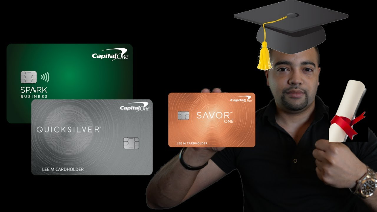 New Capital One Credit Cards - Savor & Quicksilver Trainee Company Glow Money Plus thumbnail