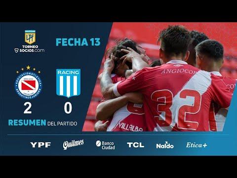 Highlights trận đấu giữa Argentinos Juniors và Racing