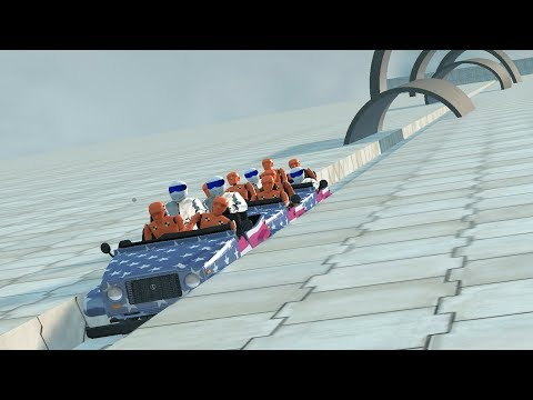 Mortal Roller Coaster #2 Beamng drive