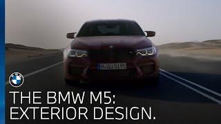 The BMW M5   Exterior Design