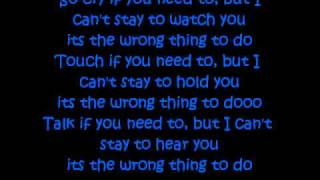 Doing it Wrong- Drake ft (Stevie Wonder) *LYRICS*