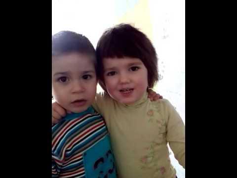Наргиз и Макс Фадеев в детстве