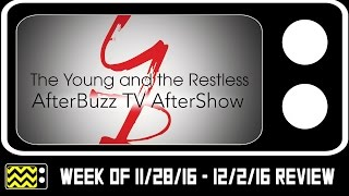 Young and the Restless for November 28th - December 2nd 2016 | AfterBuzz TV