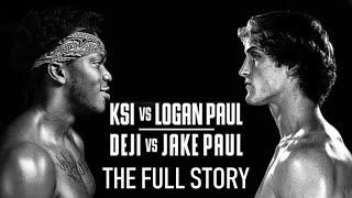 KSI vs Logan Paul: The Full Story