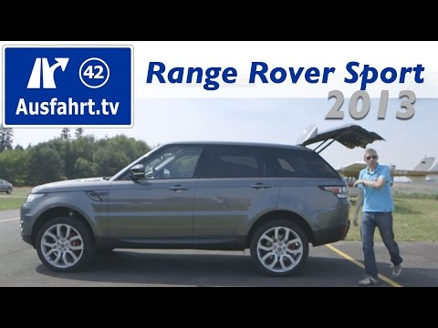 2013 Range Rover Sport SDV6 - Fahrbericht der Probefahrt / Test / Review
