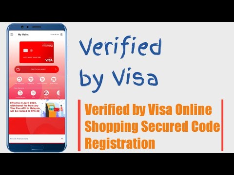 How do I get my card Verified by Visa - how to activate 3d secure visa