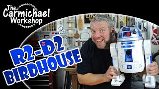 R2-D2 Birdhouse - Star Wars Woodworking Project