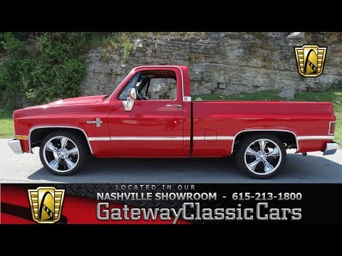 Video of 1983 Chevrolet C10 located in Tennessee - $22,995.00 Offered by Gateway Classic Cars - Nashville - LV1P