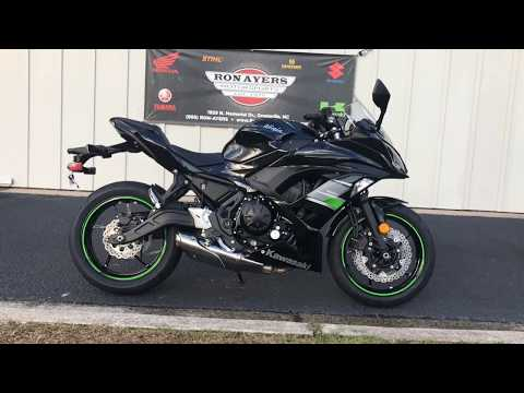 2019 Kawasaki Ninja 650 in Greenville, North Carolina - Video 1