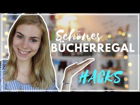 TIPPS FÜR EIN SCHÖNERES BÜCHERREGAL / BOOKSHELF HACKS| tonipure