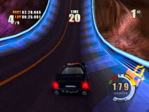 Car Racing Challenge Playstation 2