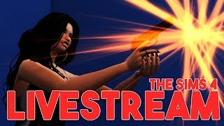 THE SIMS 4 LIVESTREAM || A HOT MESS