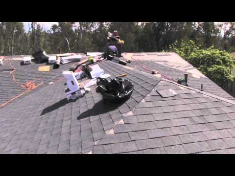 Asphalt Shingle Roofing Tr Construction San Diego Ca