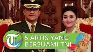 5 Artis Cantik Ini Kini Setia Dampingi Suami yang Jadi Anggota TNI