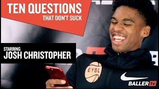 10 Questions - Josh Christopher c/o 2020 (Pangos All-American Camp)