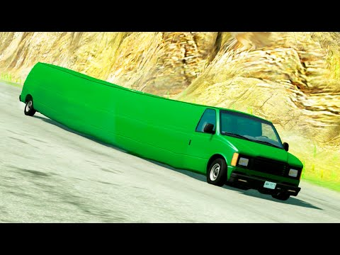 High speed freaky jumps #5 - Beamng Drive