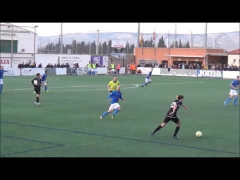 Resumen del Partido, Utebo F.C. 4-0 C.D Brea. (Incluye los goles).