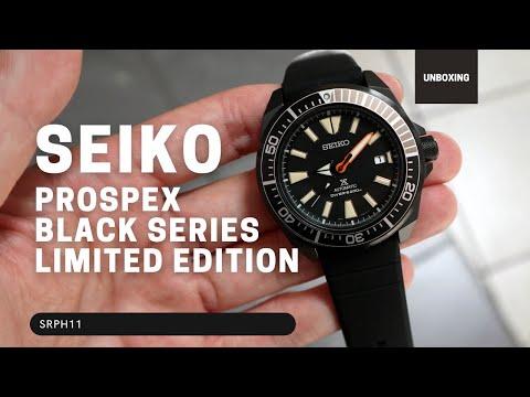 SEIKO PROSPEX BLACK SERIES SRPH11 LIMITED EDITION