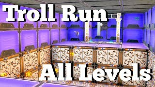 How to complete Troll Run All Levels 1-16! Fortnite Creative Guide