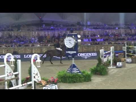 3rd place for Harrie and Don VHP Z in the Longines FEI World Cup at CSI5*-W Jumping Mechelen