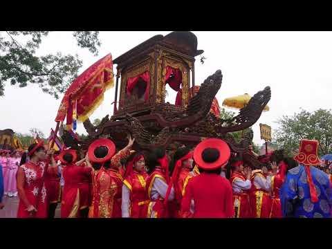 Lễ hội đền thờ HAI BÀ TRƯNG mê linh 2018