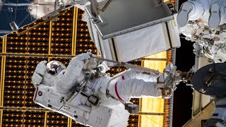 Tune in for our next International Space Station spacewalk!   On Wednesday, July 1, NASA astronauts Chris Cassidy and Robert Behnken will begin the 229th spacewalk in support of space station assembly, maintenance and upgrades. Astronauts Cassidy and Behnken will exit the station's Quest airlock to replace aging nickel-hydrogen batteries for one of two power channels on the far starboard truss with new lithium-ion batteries that arrived on a Japanese cargo spacecraft last month. The spacewalk will begin at around 7:35 a.m. EDT, with an expected duration of 7 hours.
