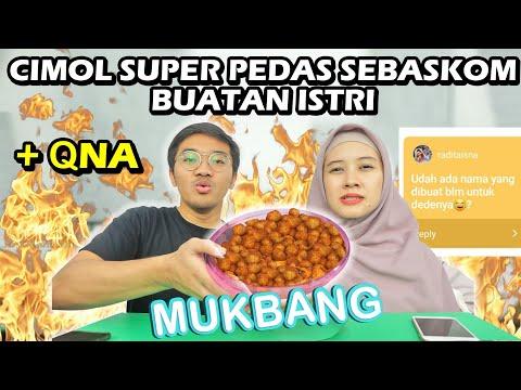 MUKBANG CIMOL SUPER PEDAS BUATAN ISTRIKU MEIRA + QnA
