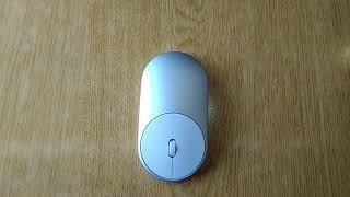 Лучшая Xiaomi Mi Mouse Silver Bluetooth