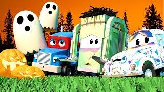 bộ sưu tập 1 giờ phim hoạt hình Halloween dành cho thiếu nhi với những chiếc xe tải🎃 HALLOWEEN 🎃