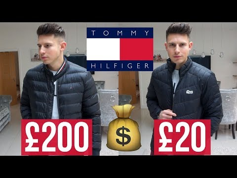 Are Tommy Hilfiger Jackets Worth £200+? (Designer vs. Highstreet)