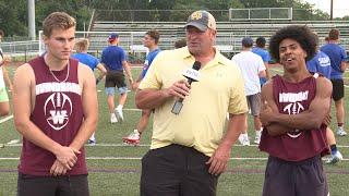 Windham football preview: Dustin Solensky and Jayden Villafane