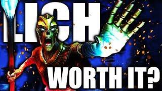 Skyrim: Is Being a Lich WORTH IT? - Elder Scrolls Lore